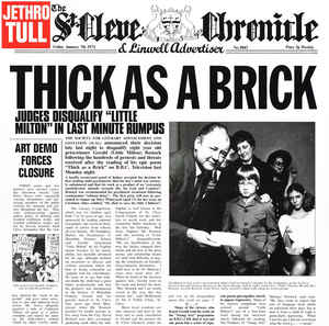 Jethro Tull - Thick as a Brick - LP