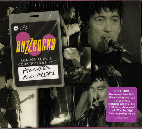 Buzzcocks - Access All Areas CD