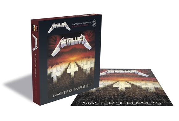 Metallica - Master Of Puppets - Puzzle