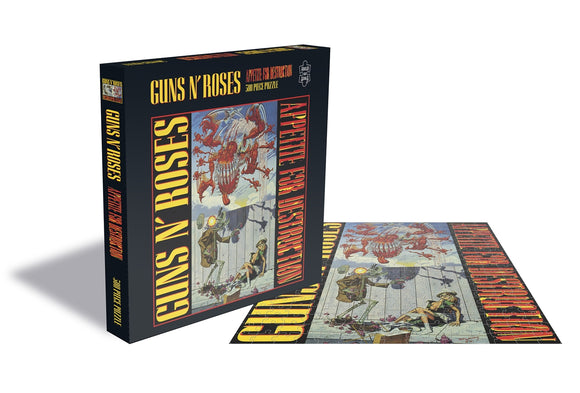 Guns N Roses - Appetite For Destruction - Puzzle