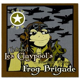 Colonel Les Claypool's Fearless Flying Frog Brigade - Live Frogs Set 1&2 - 3LP