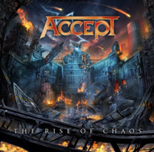 Accept - The Rise of Chaos CD