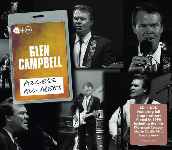 Glen Campbell - Access All Areas - CD/DVD