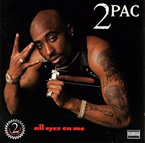 2 Pac - All Eyez On Me - 4LP