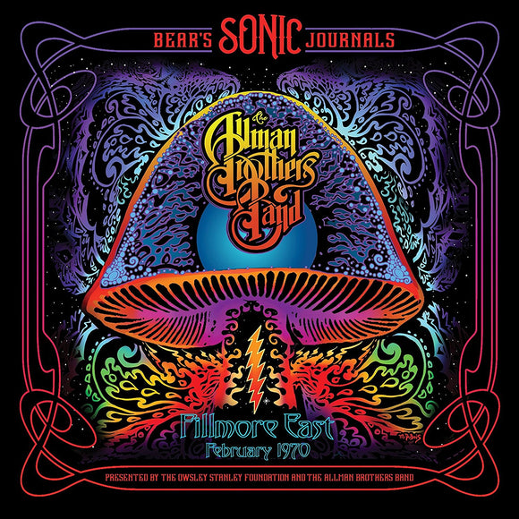The Allman Brothers Band - Bear's Sonic Journals Fillmore East 1970 CD