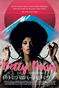 Betty Davis - They Say I'm Different - DVD