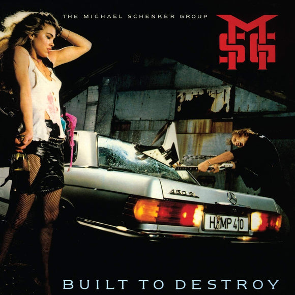 Michael Schenker Group - Built To Destroy - CD