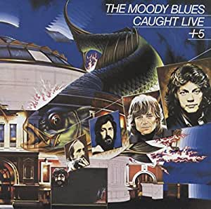 The Moody Blues - Caught Live +5 - CD