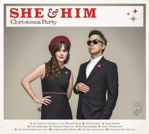 She & Him - Christmas Party - CD