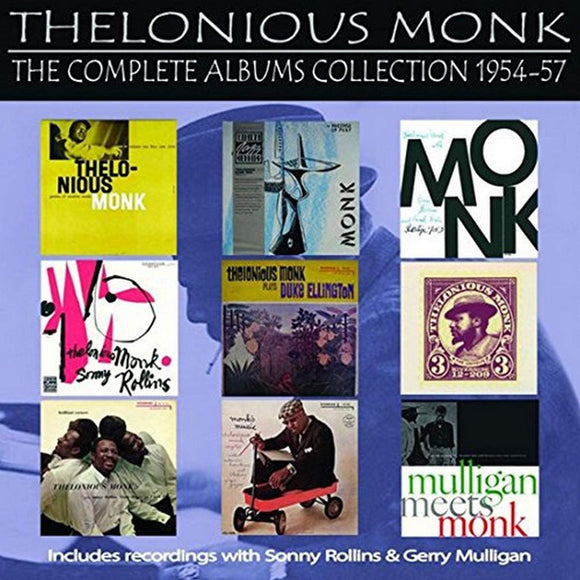 Thelonious Monk - The Complete Albums Collection 1954 - 1957 - 5CD