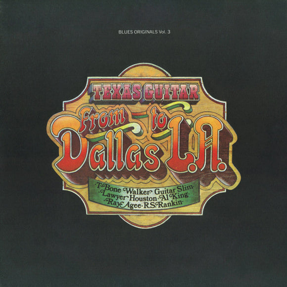 T-Bone Walker & Various Artists - Texas Guitar From Dallas To L.A. - CD