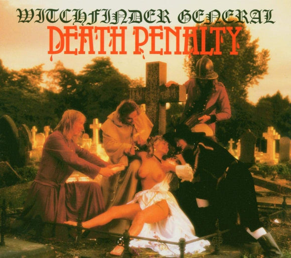 Witchfinder General - Death Penalty - CD