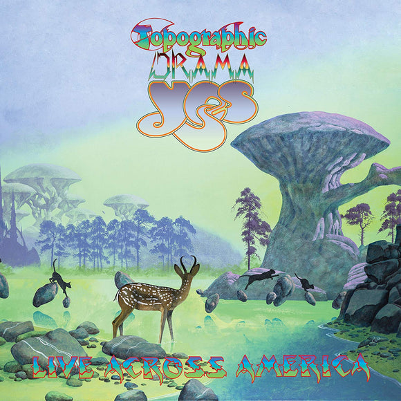 Yes - Topographic Drama: Live Across America - 2CD