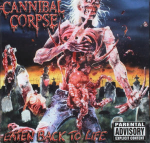 Cannibal Corpse - Eaten Back To Life - CD