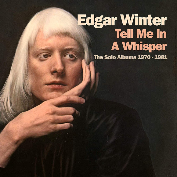 Edgar Winter - Tell Me In A Whisper - 4CD