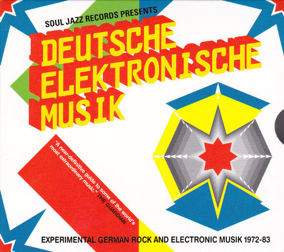 Deutsche Elektronische Musik – Experimental German Rock and Electronic Music 1972-83 - 2CD