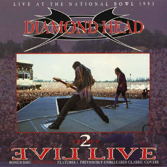 Diamond Head - Evil Live - 2CD