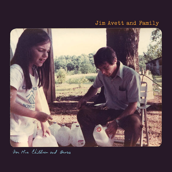 Jim Avett And Family - For His Children And Ours - CD
