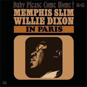 Memphis Slim and Willie Dixon - In Paris - LP