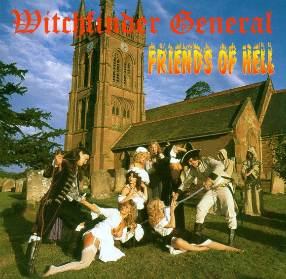 Witchfinder General - Friends Of Hell - CD