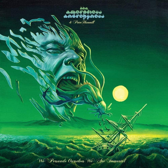 The Amorphous Androgynous & Peter Hammill - We Persuade Ourselves We Are Immortal - LP