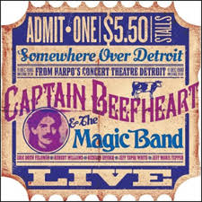 Captain Beefheart & The Magic Band - Live from Harpos 1980 - CD