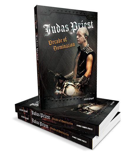 Martin Popoff - Judas Priest: Decade Of Domination - Book