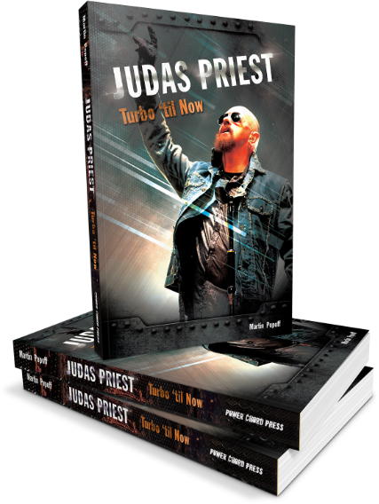Martin Popoff - Judas Priest: Turbo 'til Now - Book