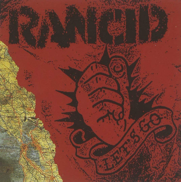 Rancid - Let's Go - LP