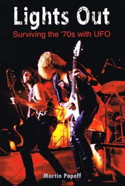 Martin Popoff - UFO : Surviving The '70's - Book