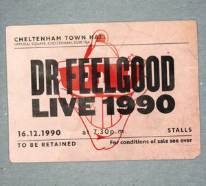 Dr. Feelgood - Live 1990 At Cheltenham Town Hall - CD/DVD