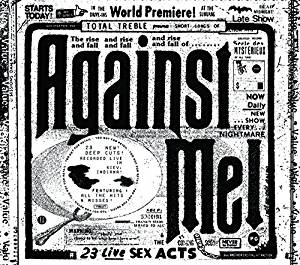 AGAINST ME! - 23 LIVE SEX ACTS - 2 CDs
