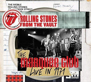 The Rolling Stones - Marquee Club 1971 - CD/DVD