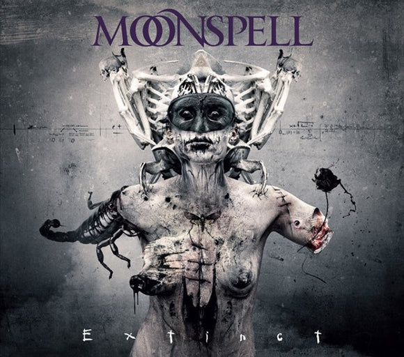 Moonspell - Extinct LTD - CD/DVD