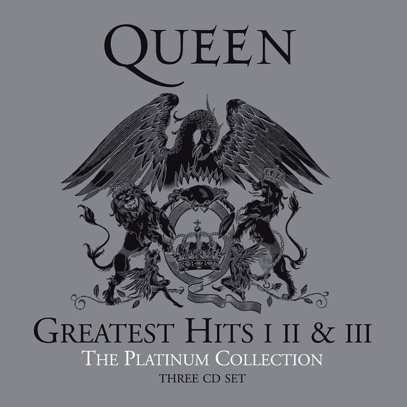 Queen - Greatest Hits I II & III The Platinum Collection - 3CD
