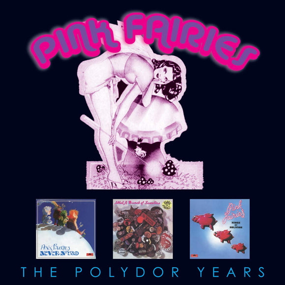 Pink Fairies - The Polydor Years - 3CD