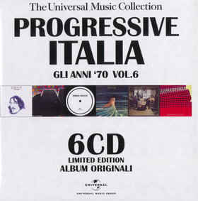 Various - Progressive Italia Vol. 6 - 6CD