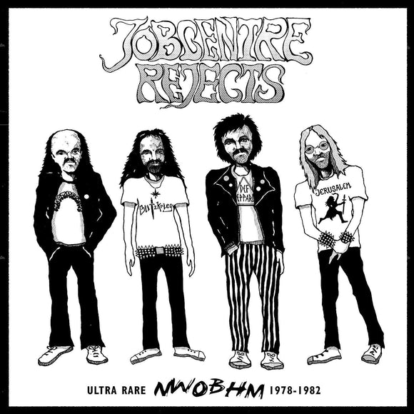 Job Centre Rejects - Vol 1. Ultra Rare NWOBHM 1978-1982 - CD