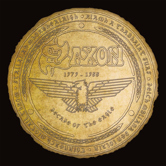 Saxon - Decade Of The Eagle 1979-1988 - LP