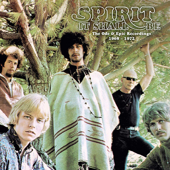 Spirit - It Shall Be The Ode & Epic Recordings 1968-1972 - 5CD
