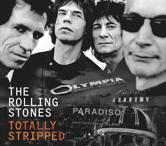 The Rolling Stones - Totally Stripped - CD/DVD