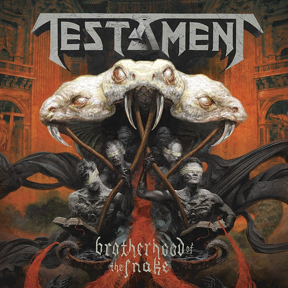 Testament - Brotherhood Of The Snake CD