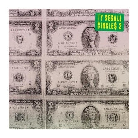 Ty Segall - Singles 2 - 1 LP