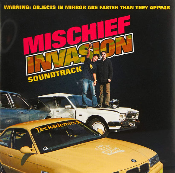 Mischief Invasion Soundtrack - CD