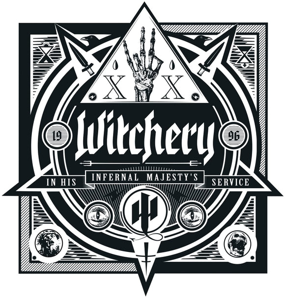 Witchery - In His Infernal Majesty's Service - CD