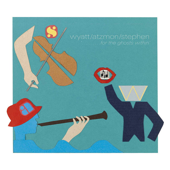 Robert Wyatt  -For The Ghosts Winthin' CD