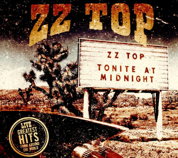 ZZ Top - Live Greatest Hits From Around The World - 2 LP
