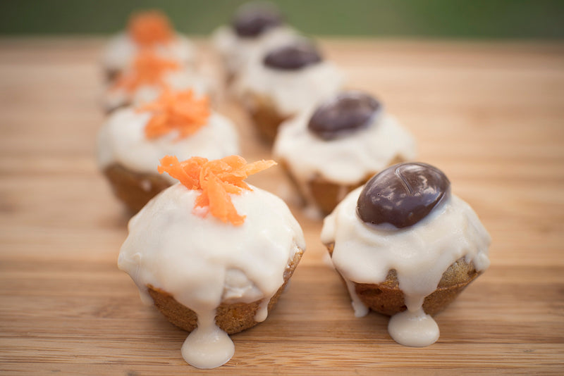 Carrot pupcakes by The Pug Diary