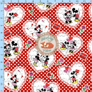 Mouse Romance - Custom Fabric