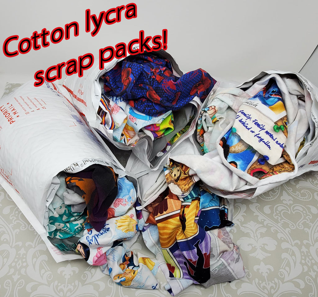 Cotton Lycra Scrap Pack